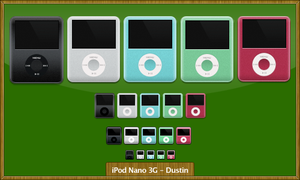 iPod Nano 'Fatty' by mikevickrocks