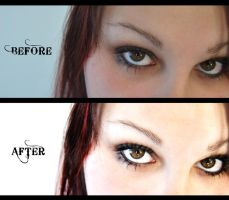 """""""Believe"""" Before and After by kpep"""