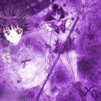 Sailor Saturn Collage by Senshi-chan