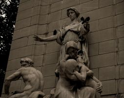 Central Park Statues by Poet515