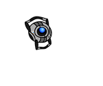 Portal 2 - Smol Wheatley vector thing by GallifreyanGirl15