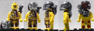 LEGO Predator Custom Minifig by ARMORMAN