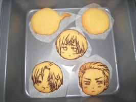 Comic Fiesta09 cookie samples by Annachuu