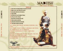 Madfish the debut cdcover back by braynx