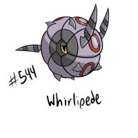 Pokemon Drawathon - 544 - Whirlipede