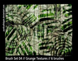 Brush Set 04 - Grunge Textures by punksafetypin