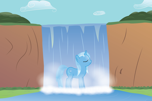 Great and Powerful Waterfall by joeyh3