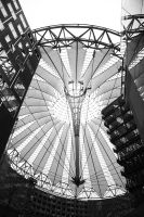 Sony Centre Dome by happienoodleboy