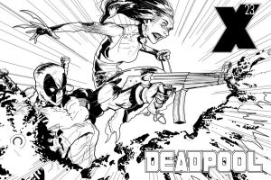 Deadpool X-23 by Escarleto