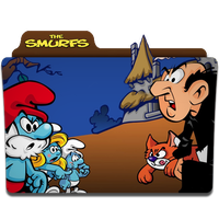 The Smurfs Folder Icon by mikromike