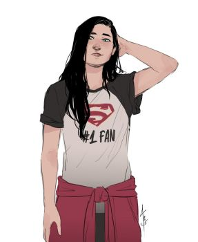 Supergirl No. 1 Fan by lesly-oh