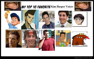 Top 10 Favorrite Kim Hasper Voices for you! by Austria-Gentleman