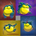 The Four Sumo Turtles by RickyDemont