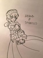 Anna and Stratos ^^ by knockoutandsonic
