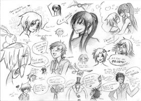 D.Gray-Man silly things by Evinawer