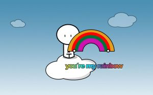 You re my rainbow by pincel3d