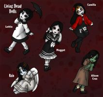 Living Dead Dolls by MuseWhimsy