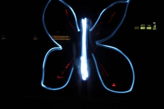 Electric Butterfly by HisParAmour
