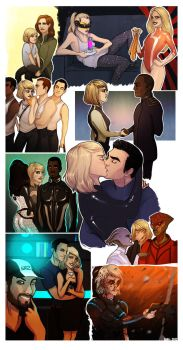 Mass Effect - Moments by Enife