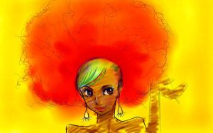 Afro by Mia-foreveryoung
