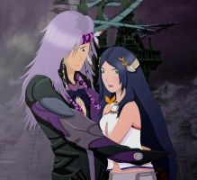 Yeul and Caius: I'll protect you by xHeeendlx