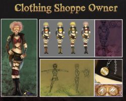 Clothing Shoppe Concept by HatterMadness