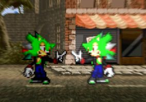 Blade The Hedgehog my version by SHANIC1295