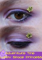 Lumpy Space Princess Eye Make-Up by LadySiha