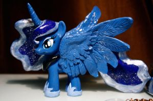 Sculpted Custom Princess Luna by Timatae
