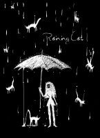 Raining Cat by CottonValent