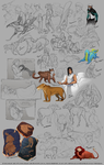 Doodles 13 by GreekCeltic