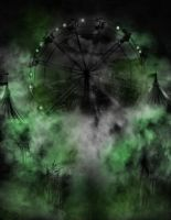 circus background-American horror story by L-A-Addams-Art