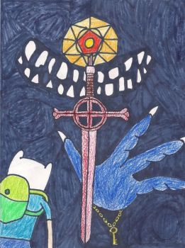 Adventure Time Dad's Dungeon by PurpleTux461