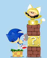 Hey, Look Mario, I can do Parkour! by sergiomonty