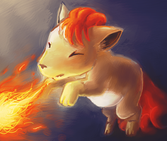 Vulpix Used Ember by naturalradical
