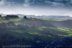 Evening over Kendal by DamianKane