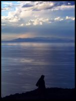 The old woman and the sea by Moiska