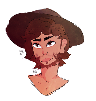 Cocky Cowboi by sophdoodles