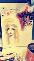 Lady of shalott ink testing by imo-drama-queen
