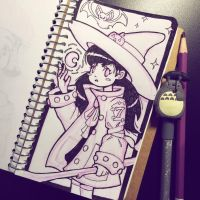 Shichi the Witch by MissMaddyTaylor
