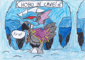 Chobo In Cave by blase005