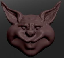 3D_ Cheeky Pigman by fragmeister