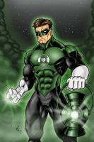 Green Lantern by jayodjick