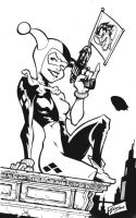 harley quinn ink by airold