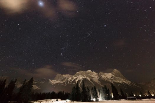 Stars over New Years by Hutzon