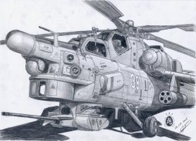 Mi-28N by GrafDeWolfGuN