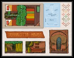 D-A: Terracotta Haven Layout by Ink-Jam