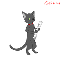 Catherine the Cat by BoltsGirl