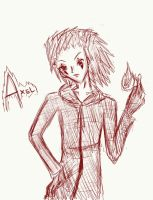 Art Trade - Axel by Ice-Chrome