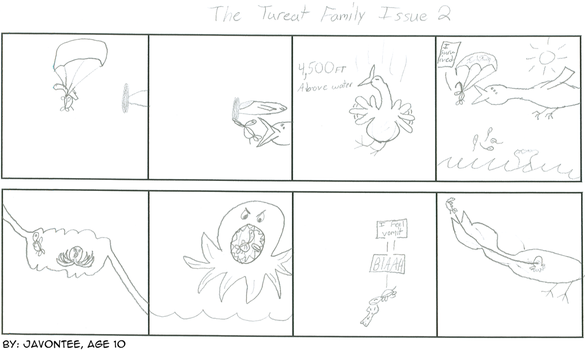Tureat Family Issue 2 12-6-06 by createacomic